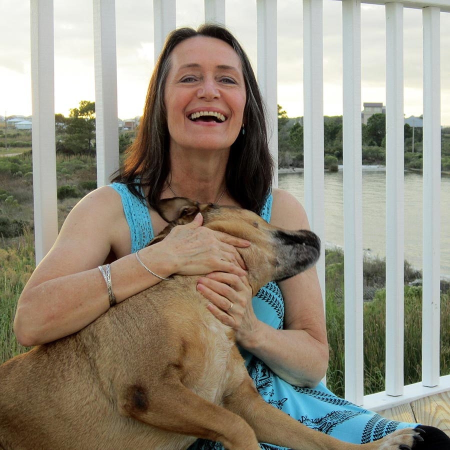 Therapy Services - Menopause - Woman and Dog
