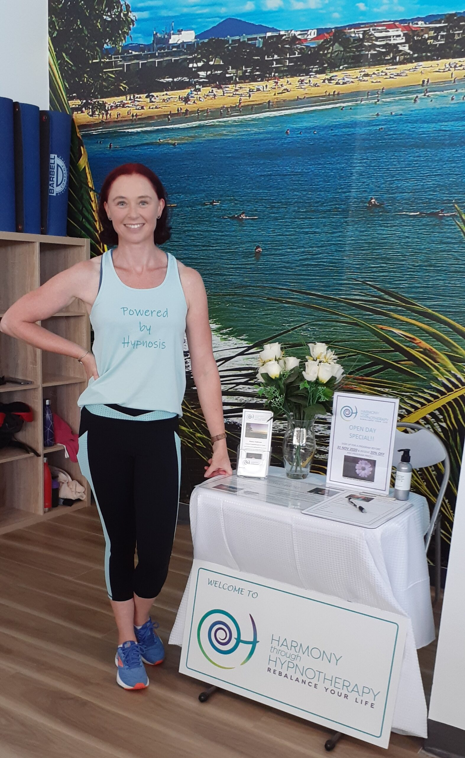 Sunshine Coast Hypnotherapy - Gym Launch