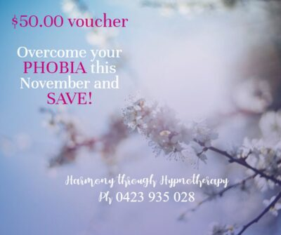 Sunshine Coast Hypnotherapy - Overcome Phobias through Hypnotherapy